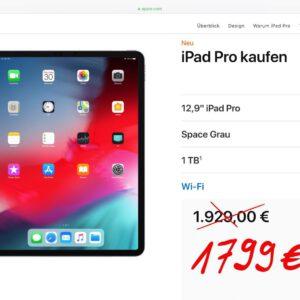 iPad Pro 12,9 Zoll 1TB